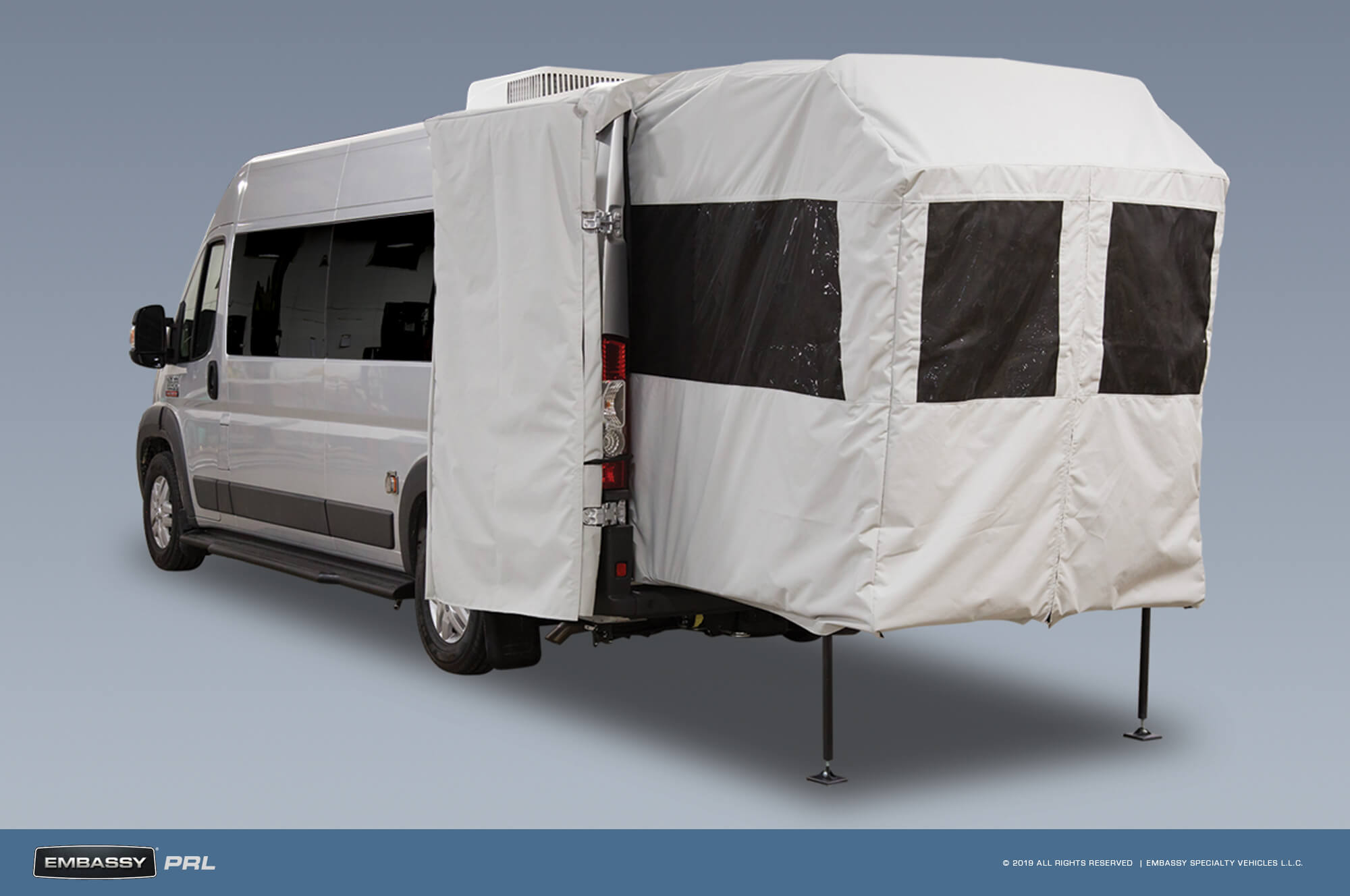 Embassy RV PRL Porch With Tent