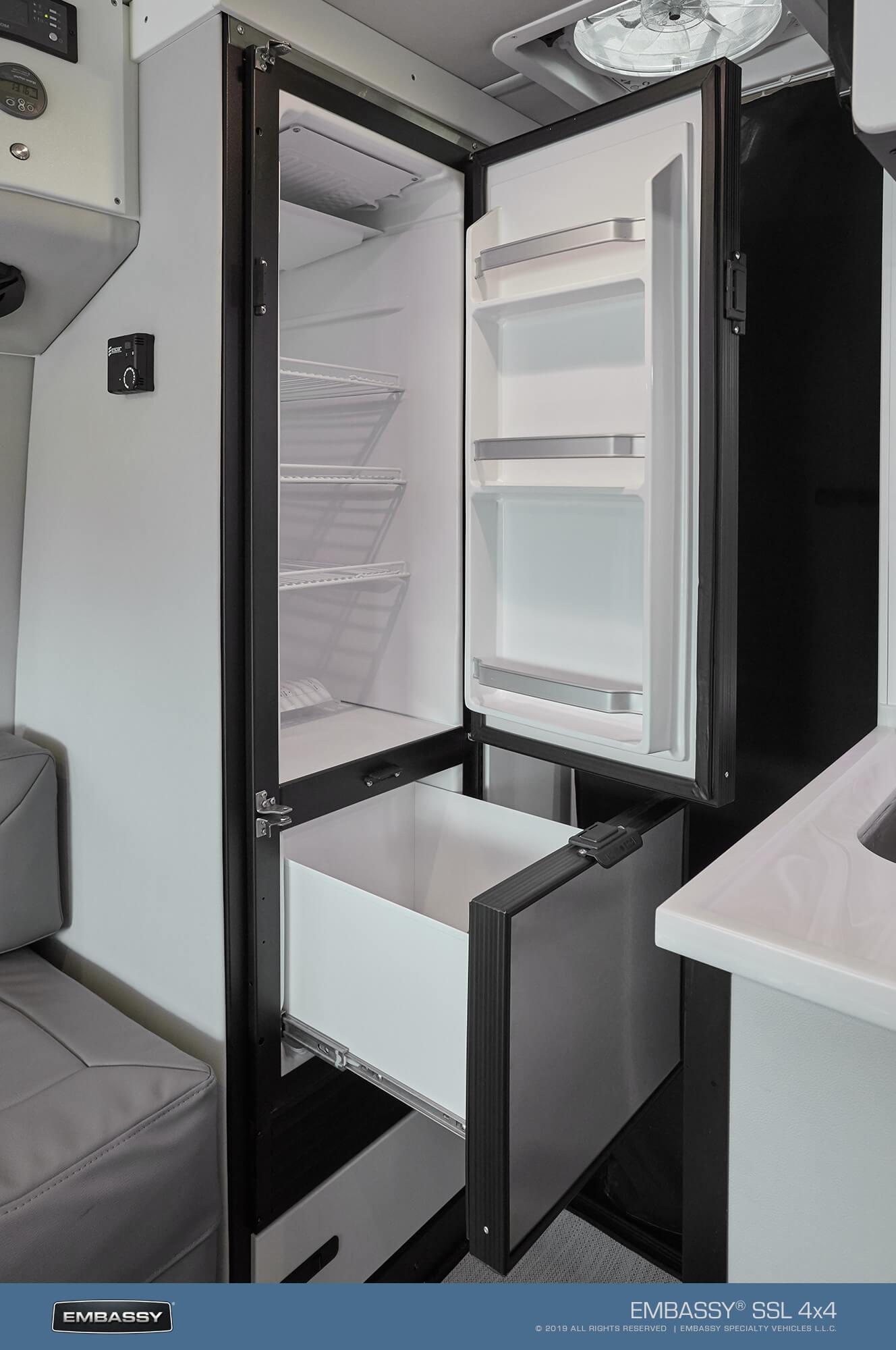 Embassy RV  6.8 cf. 12v Refrigerator
