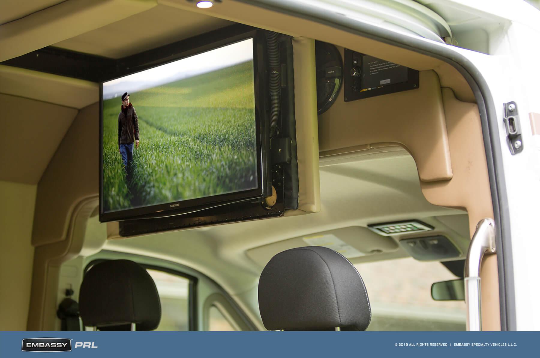 Embassy RV PRL Hide-away HDTV