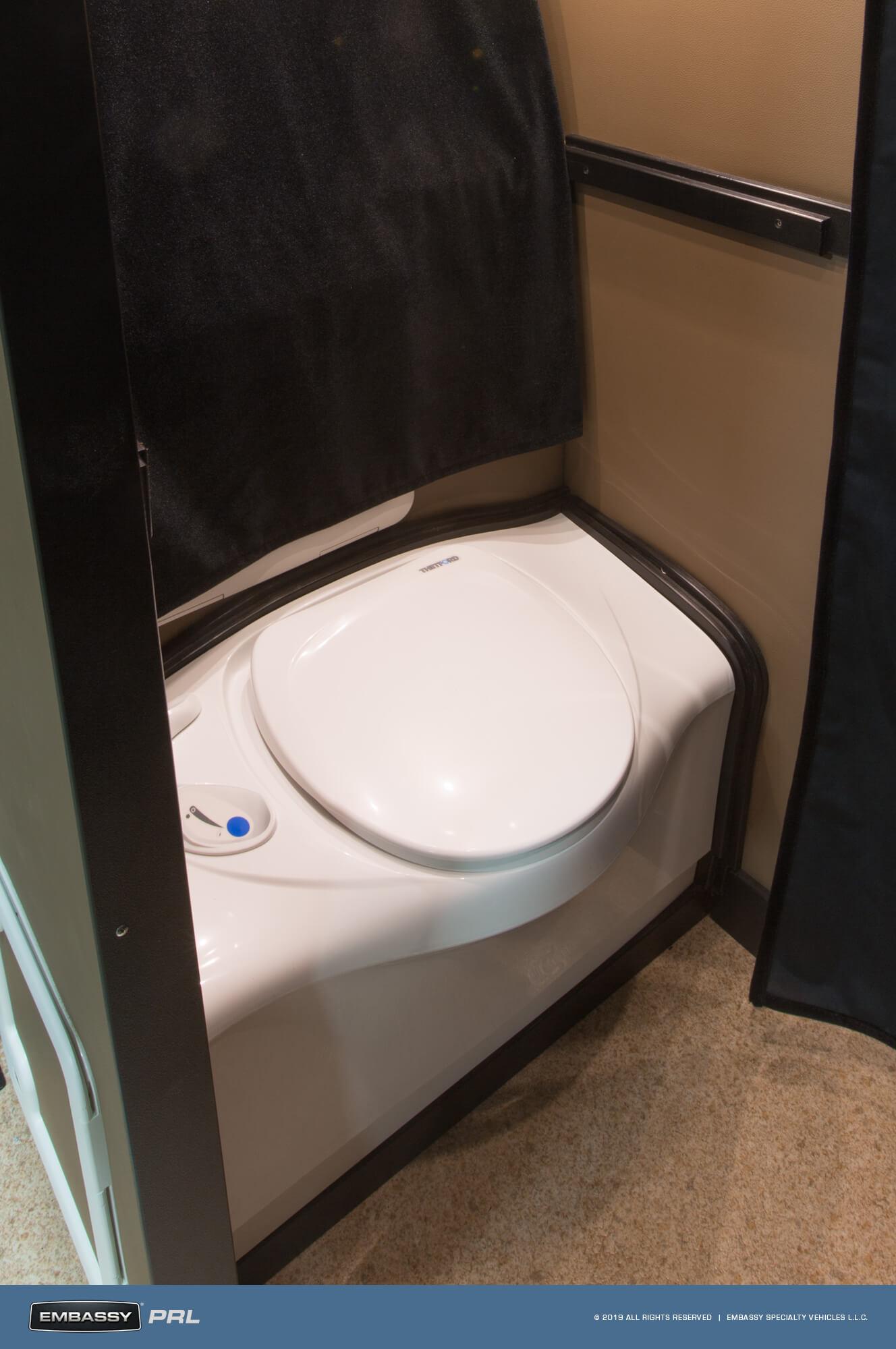 Embassy RV PRL Convertible Vanity Toilet
