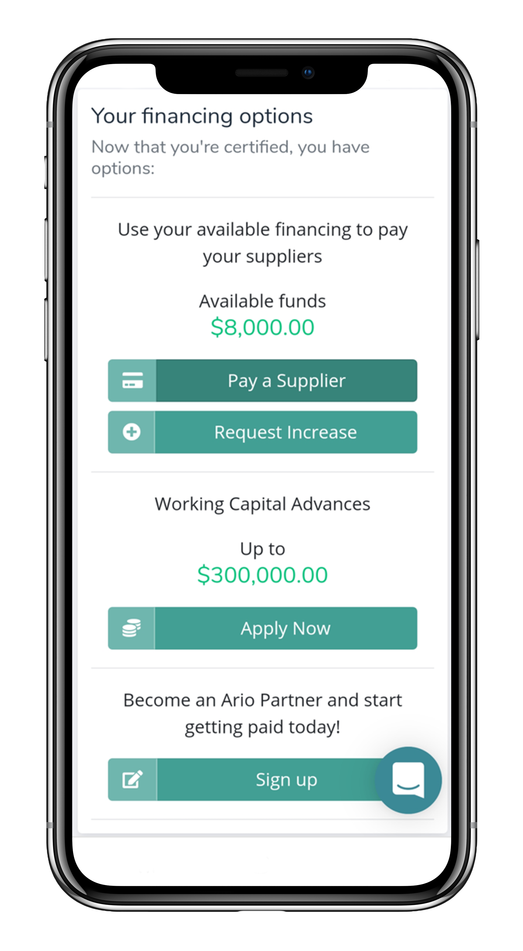Ario Platform | Solutions We Offer - Invoice Financing