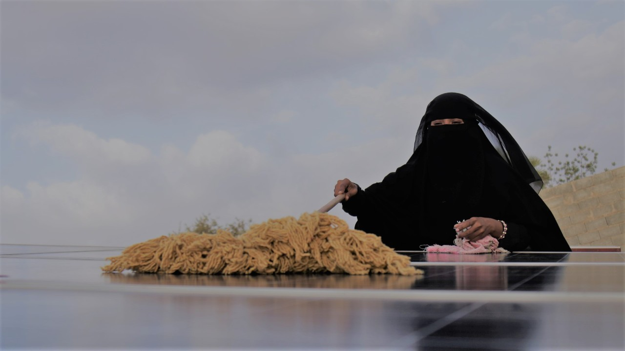Solar Grid Project in Yemen