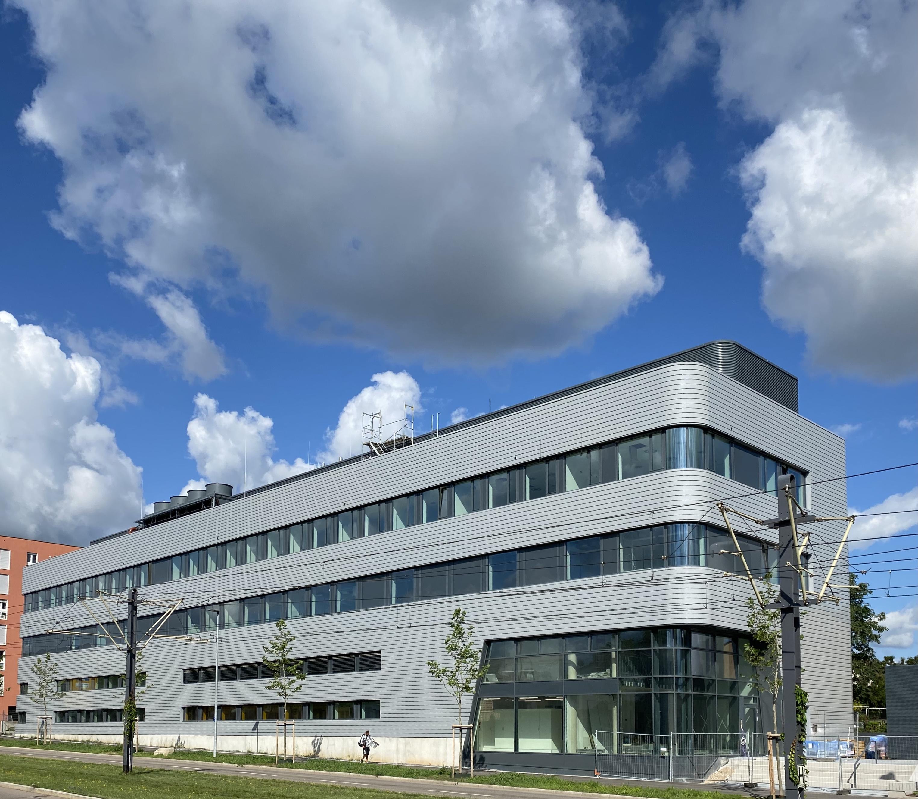 New Fraunhofer ISE Building