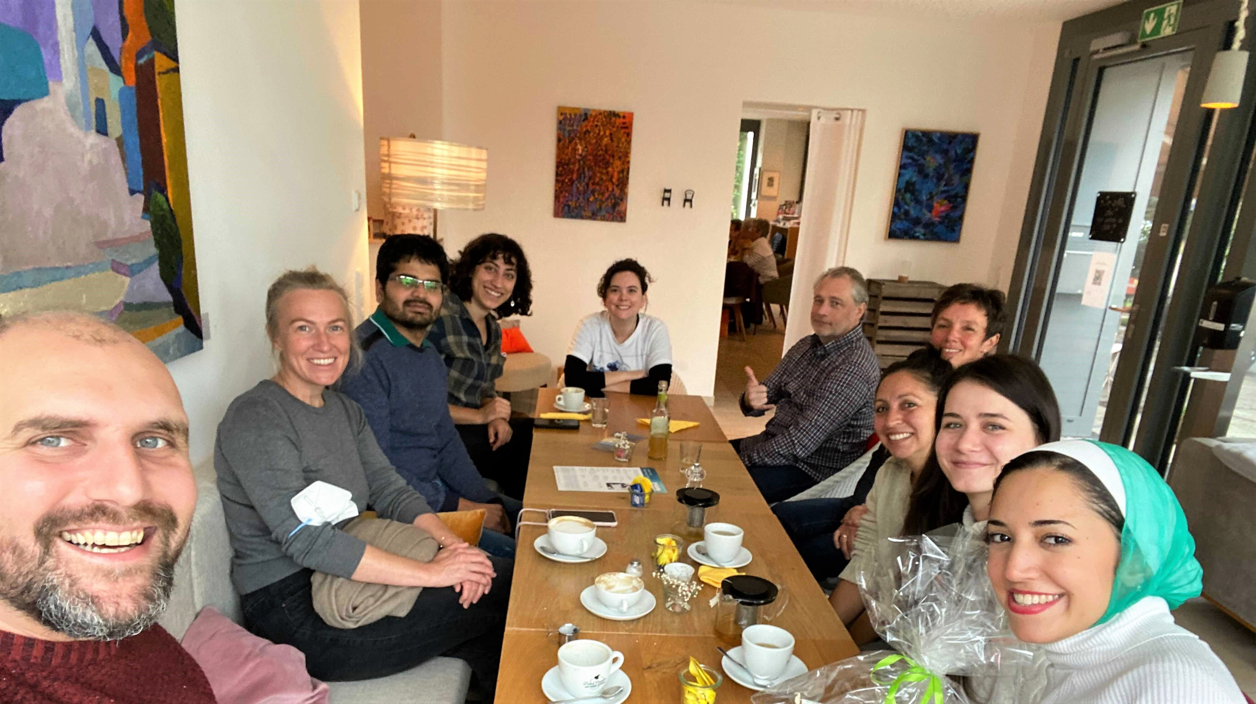 SEE Team Met for a Breakfast and Discussing Exciting Plans