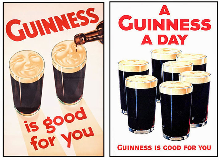 Guiness Marketing Slogans