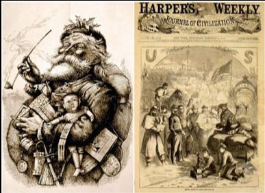 Harper's Weekly and Santa