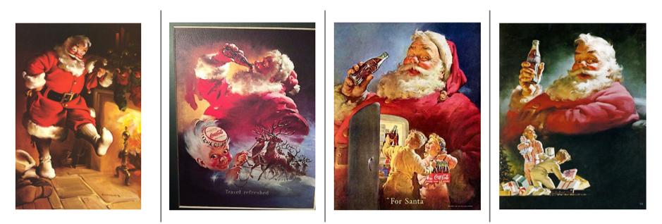 Haddon Sundblom's Santa Claus