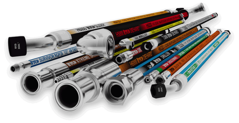 Ryco hoses, fittings and adaptors