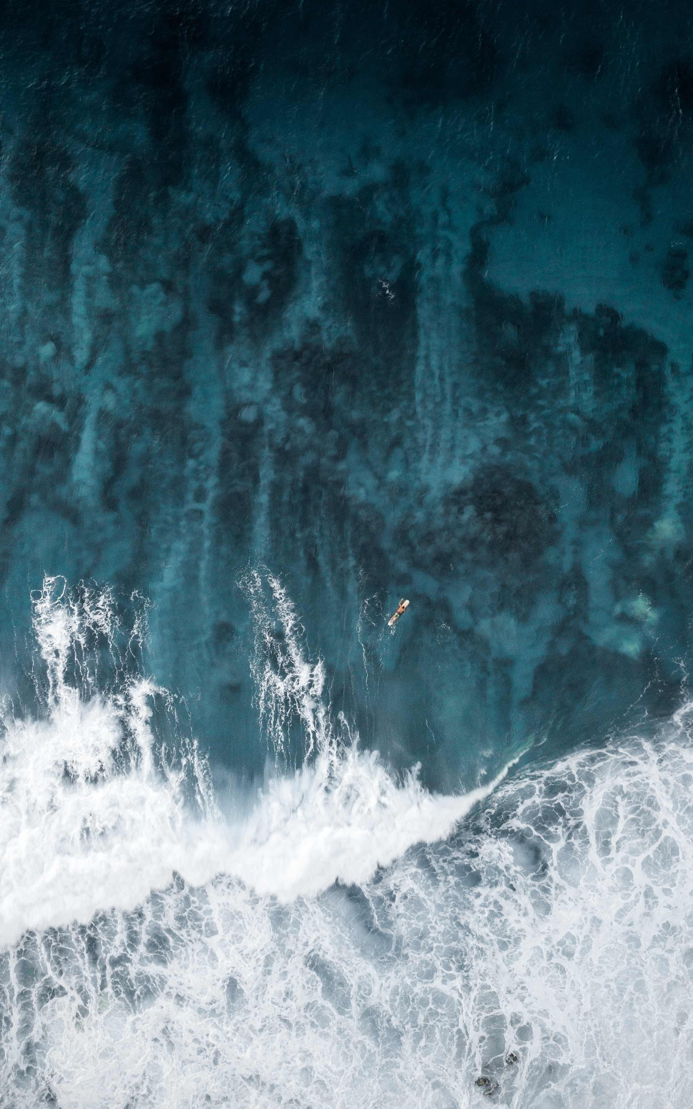 Oahu, Hawaii ocean wave