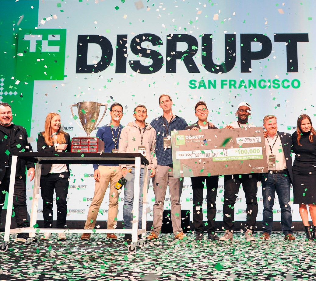 360 marketer for TechCrunch Disrupt winner