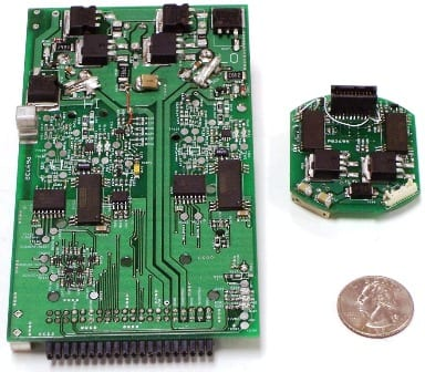 Electronics miniaturization circuit board