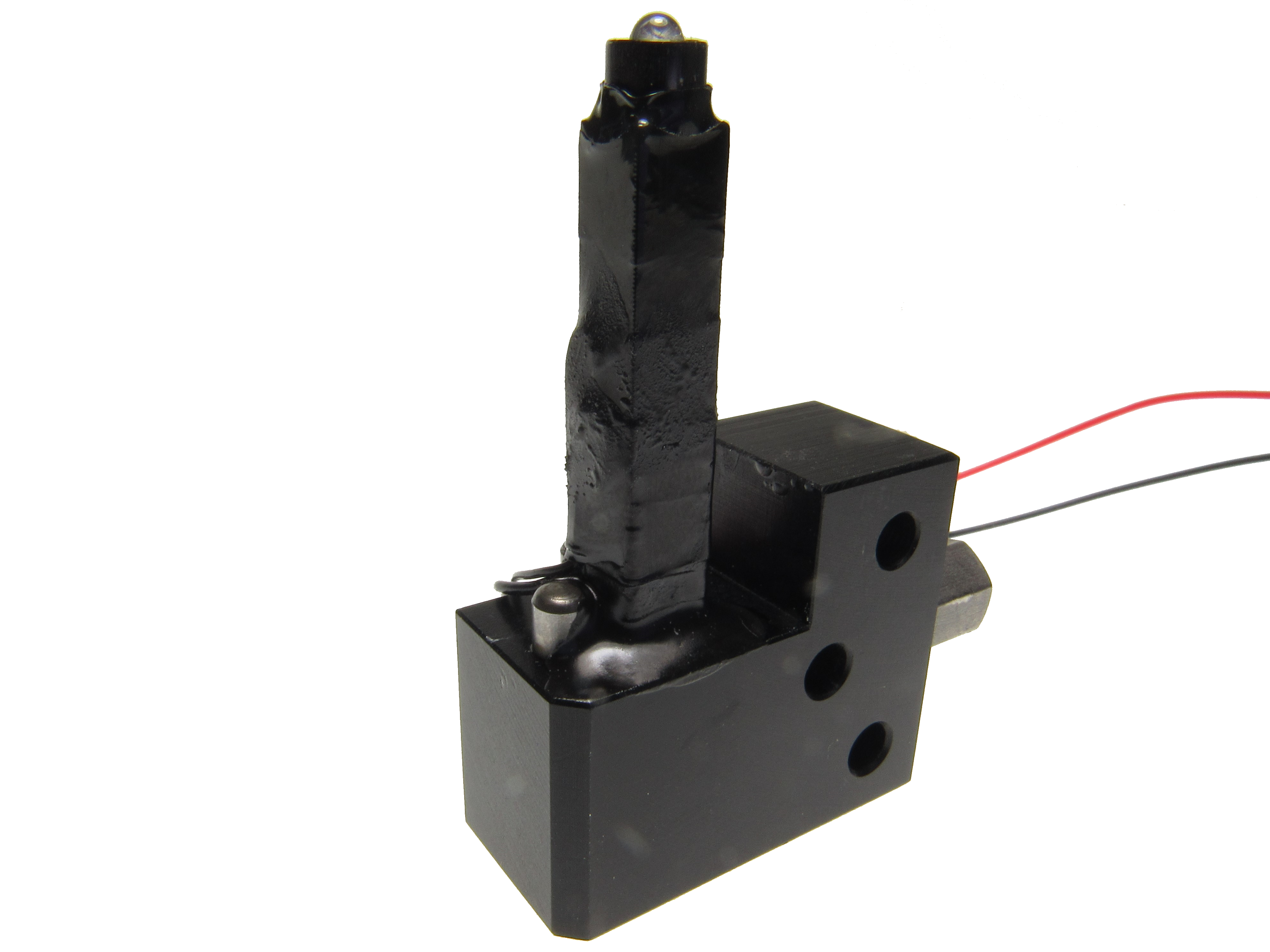 Piezo actuator repaired by Dynamic Structures & Materials