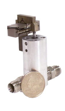 High temperature gas piezo valve actuator