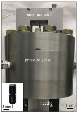 UIL small-scale ballistic cavitaiton device