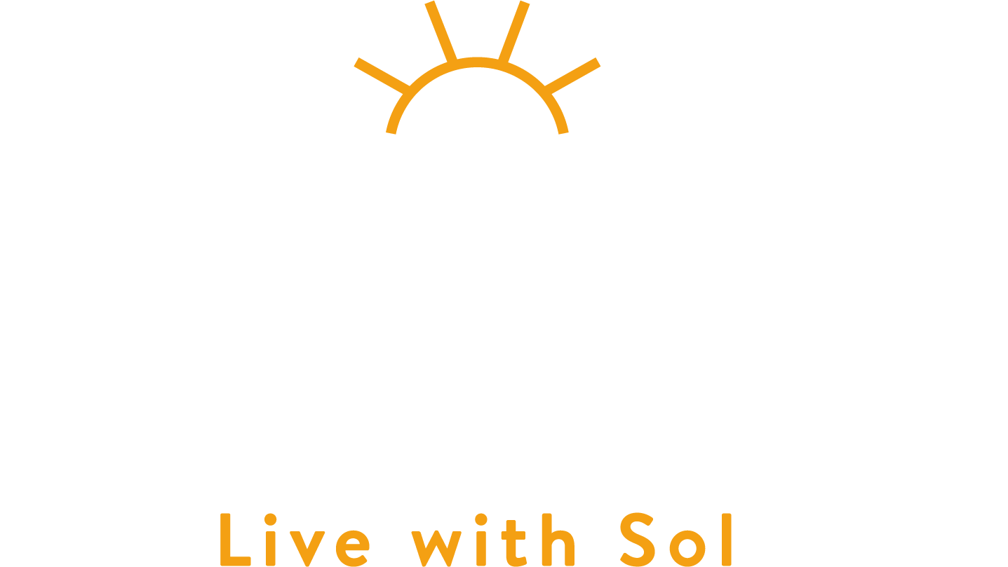Sol Flower footer logo