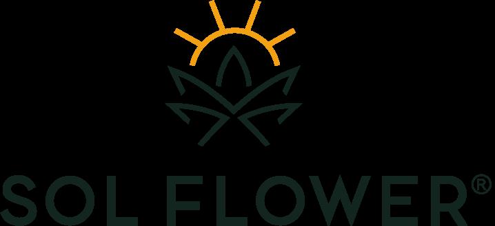 Sol Flower Logo