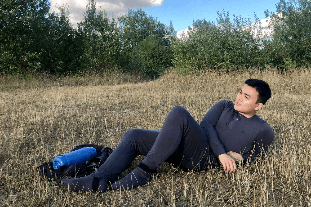 Bamboo pyjamas with insect repellent