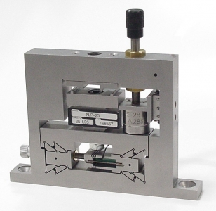 Nanopositioning bend test system; nanopress