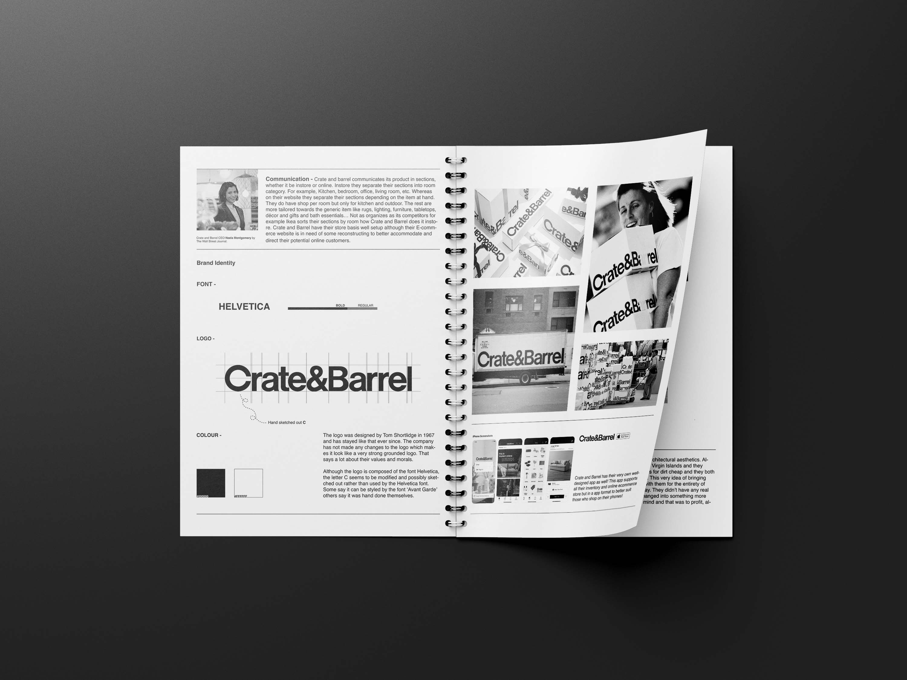 Crate&Barrel Booklet Analysis