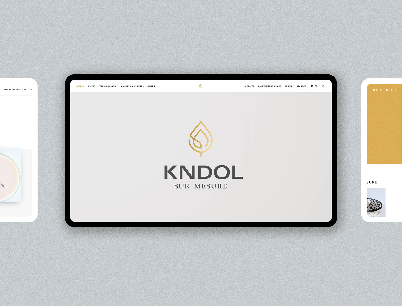 Kndol Mockup Website