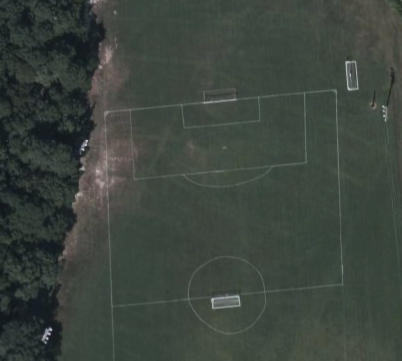 Google Earth View of Washington and Henry Elementary school