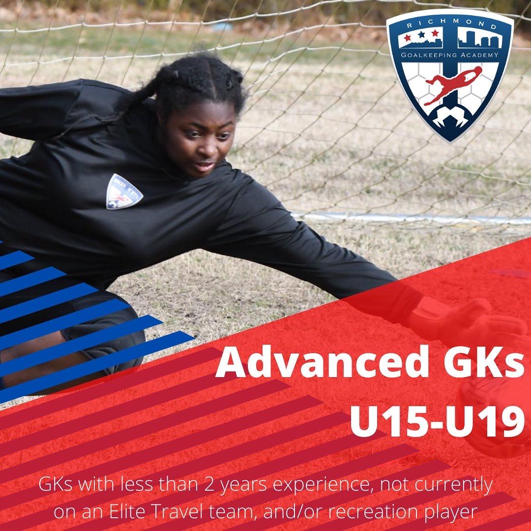 Advanced Elites Group ages U15 through U19