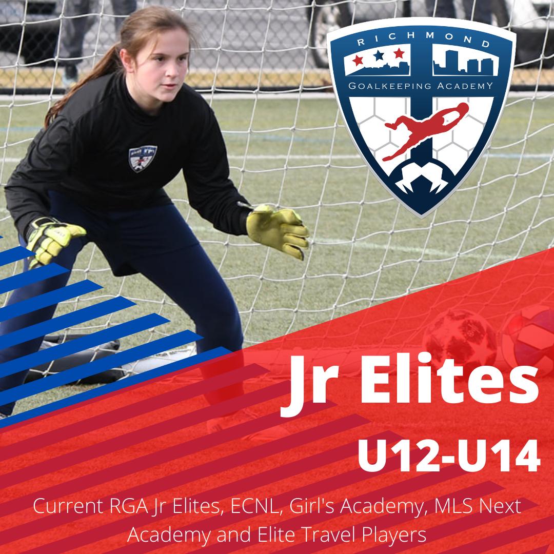 Junior Elites Group ages U12 through U14
