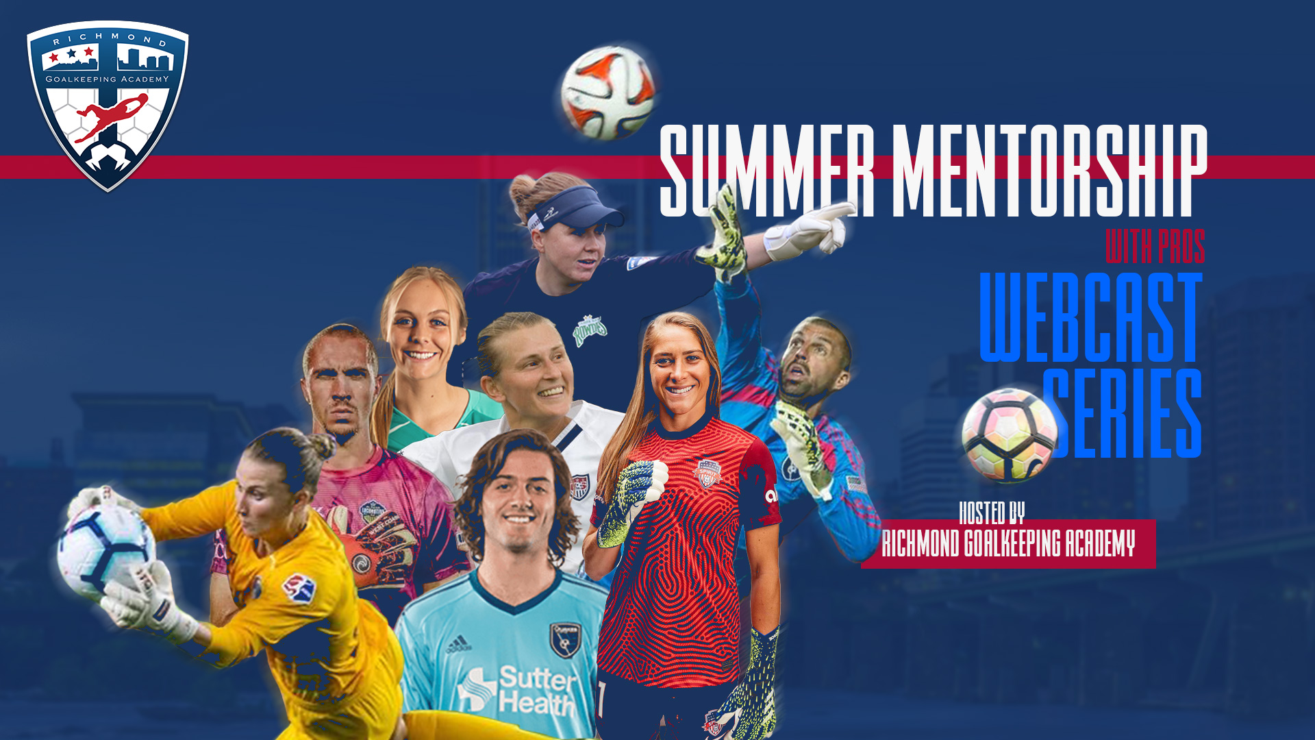 Summer Mentorship with Pros Webcast series photo.