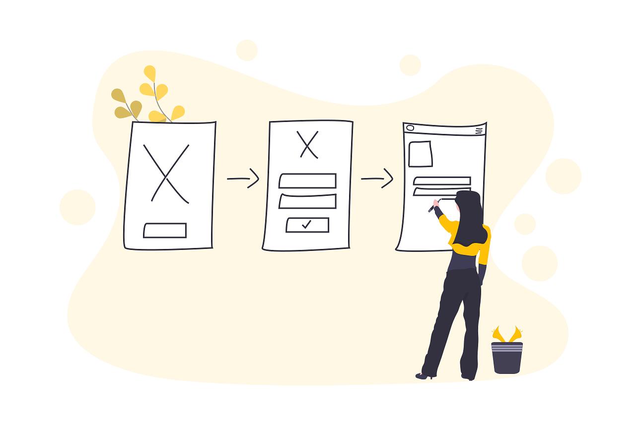 Makieta UX a paper prototyping