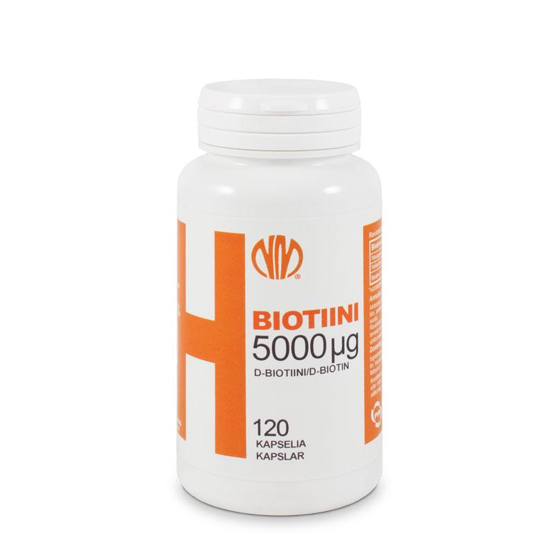 Biotiini H 5000µg  - Natura Media