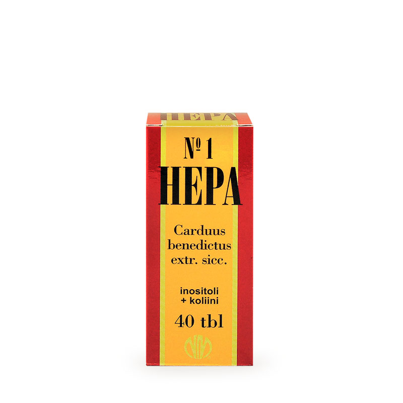 HEPA Nº1 (Benediktiiniohdake-vitamiinivalmiste)