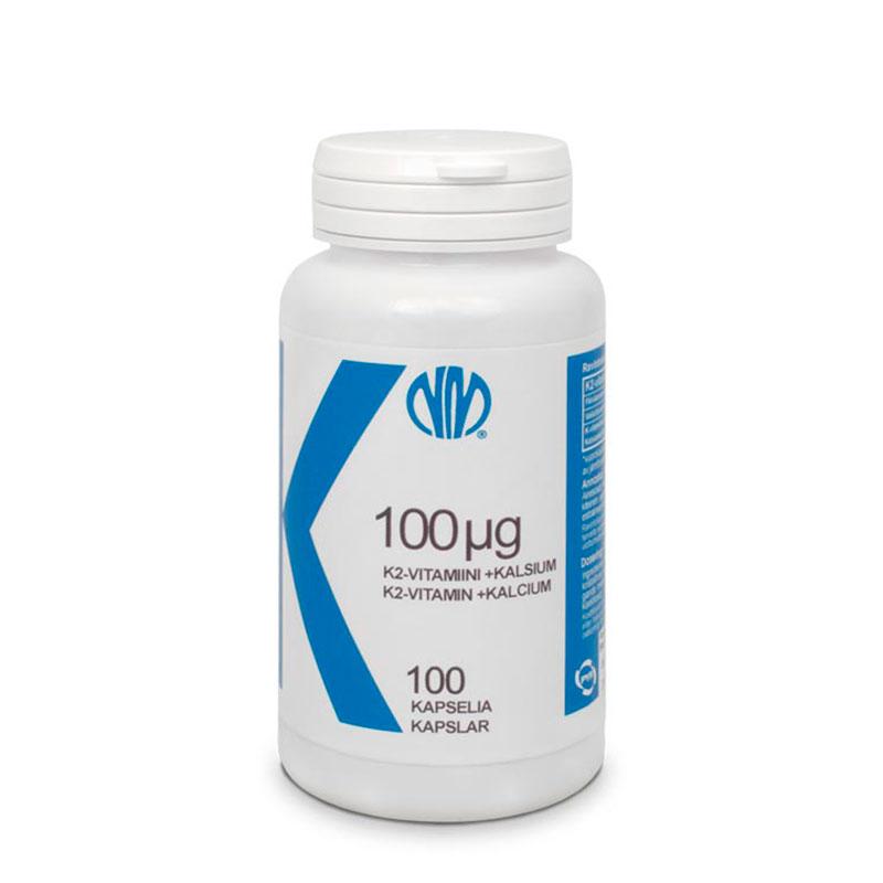 K2-vitamiini 100µg - Natura Media