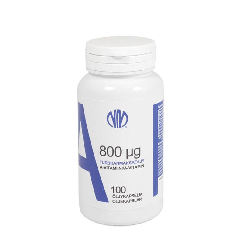 A-vitamiini 800 µg - Natura Media
