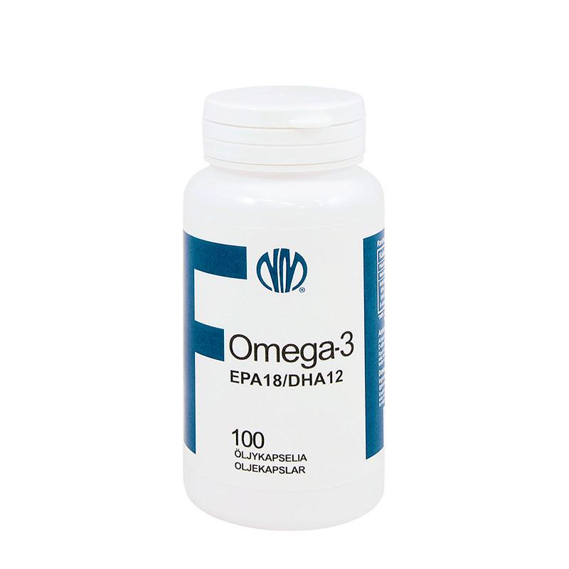 Kalaöljy F Omega-3 EPA 18 / DHA12 - Natura Media
