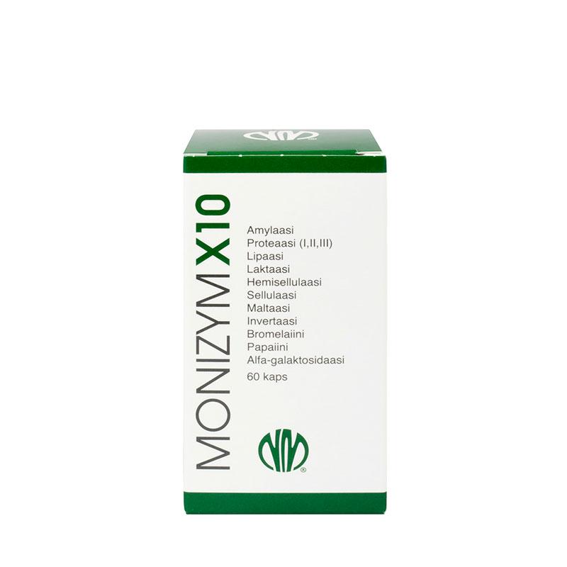 Monizym® X10 Enzymes- entsyymikapselit