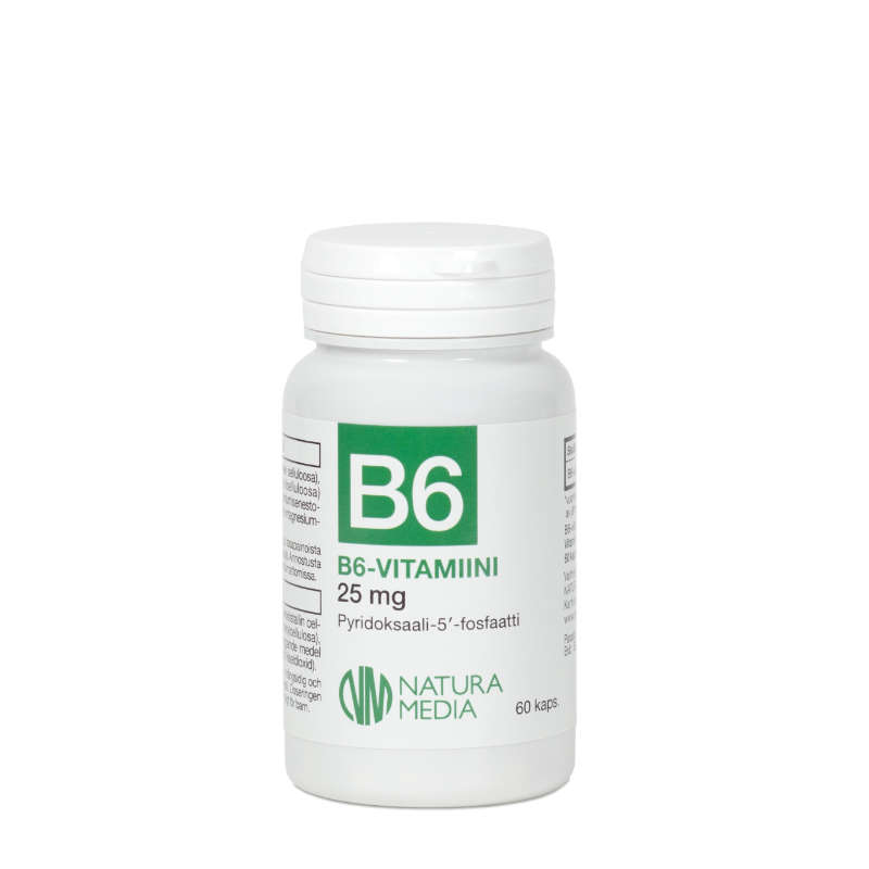 B6 25 mg P-5-P - Natura Media
