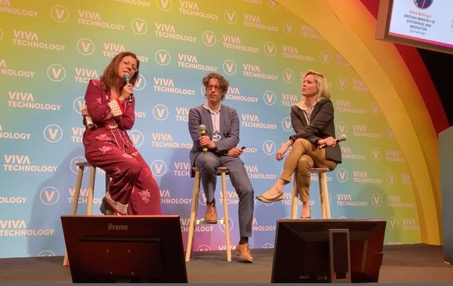 ClimateView at VivaTech stage Y