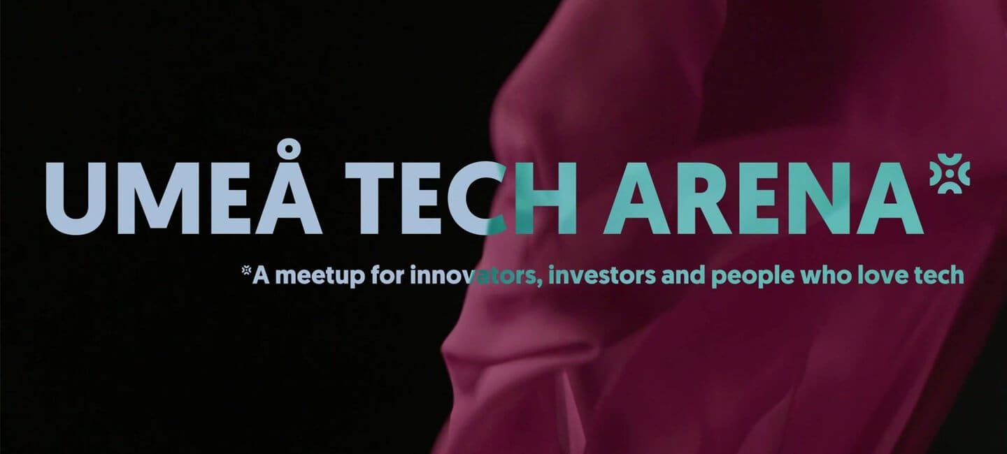 ClimateView's CEO Tomer Shalit has been invited as a speaker at Umeå Tech Arena on May 14.