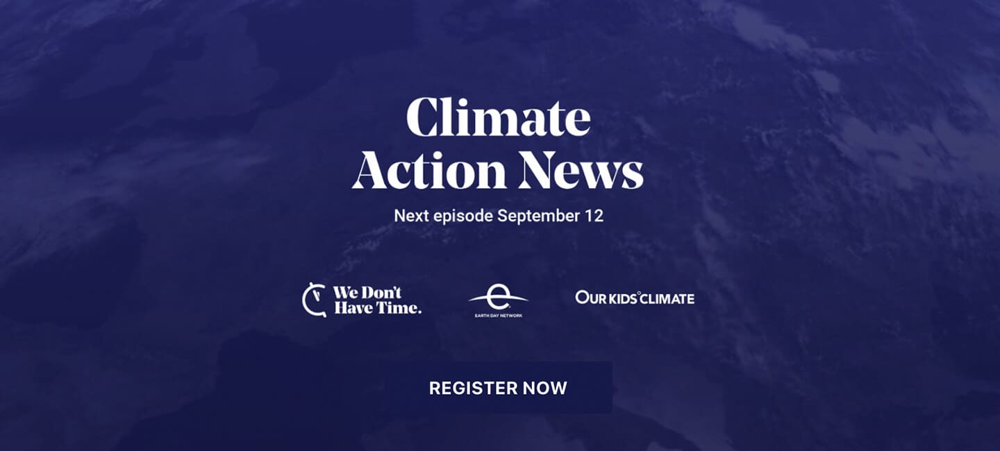 Tomer Shalit is invited to speak at Climate Action News