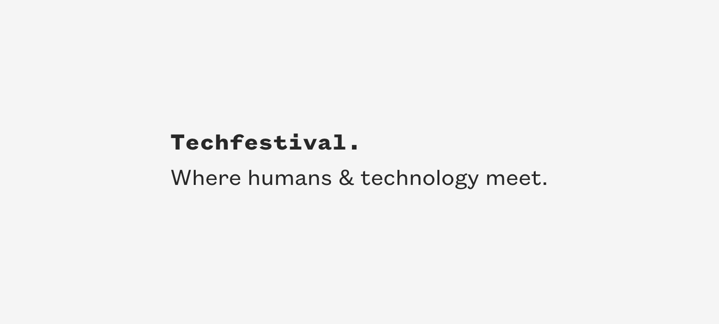 Tomer Shalit is invited to speak at Techfestival