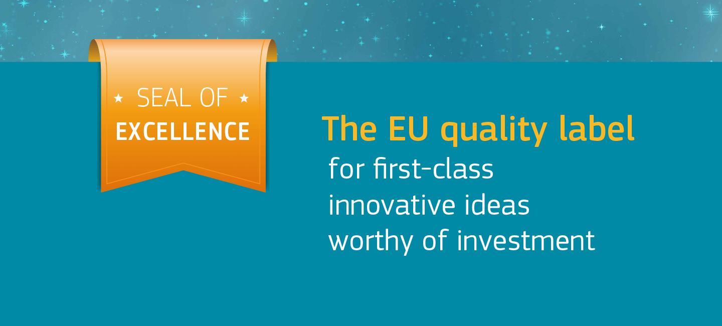 We are immensely proud to announce that Climateview has received the EU seal of excellence.