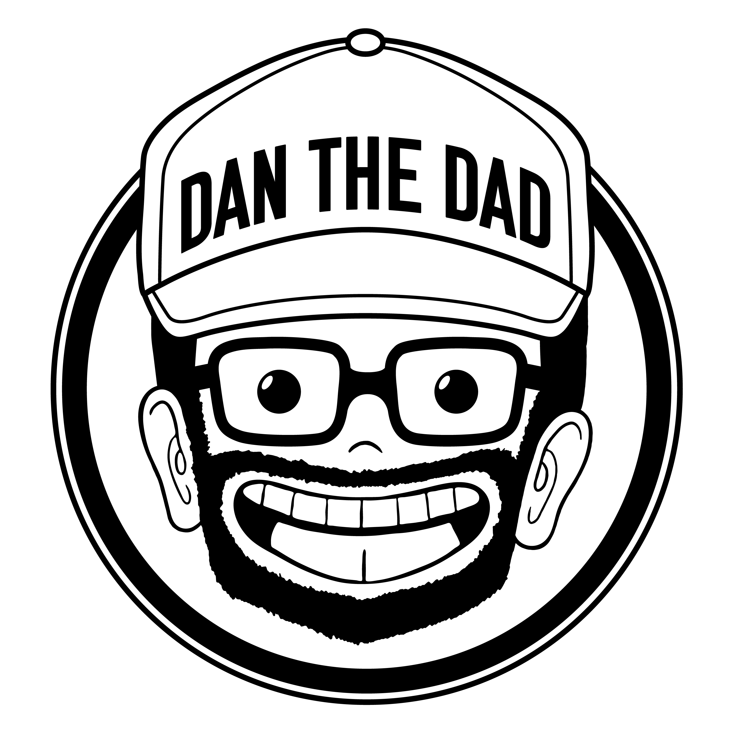 Dan the Dad - Independent Professional Wrestling Artwork & Merchandise by Mouthpiece Studios