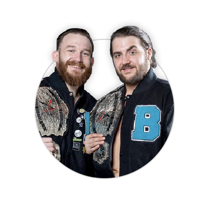 Independent Wrestling Tag Team Besties in the World