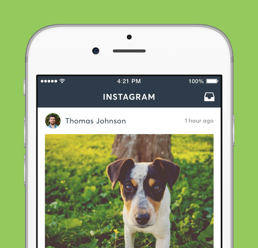 Instagram Redesign - Home Feed Screen