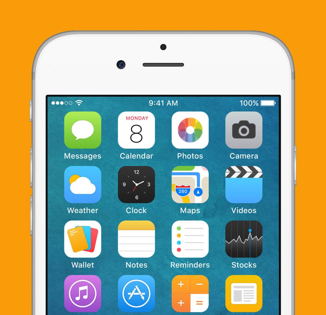 iOS 9 Redesign - Home Screen