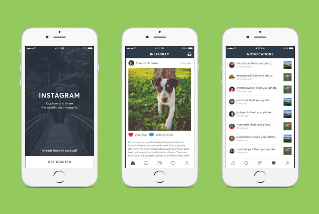 Instagram Redesign preview image