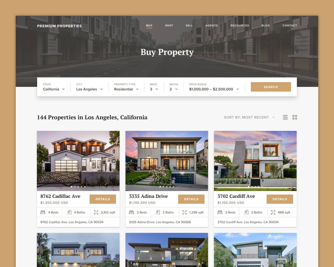 Premium Properties - Property Listings