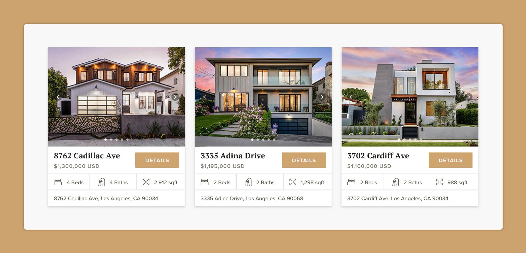 Premium Properties property previews