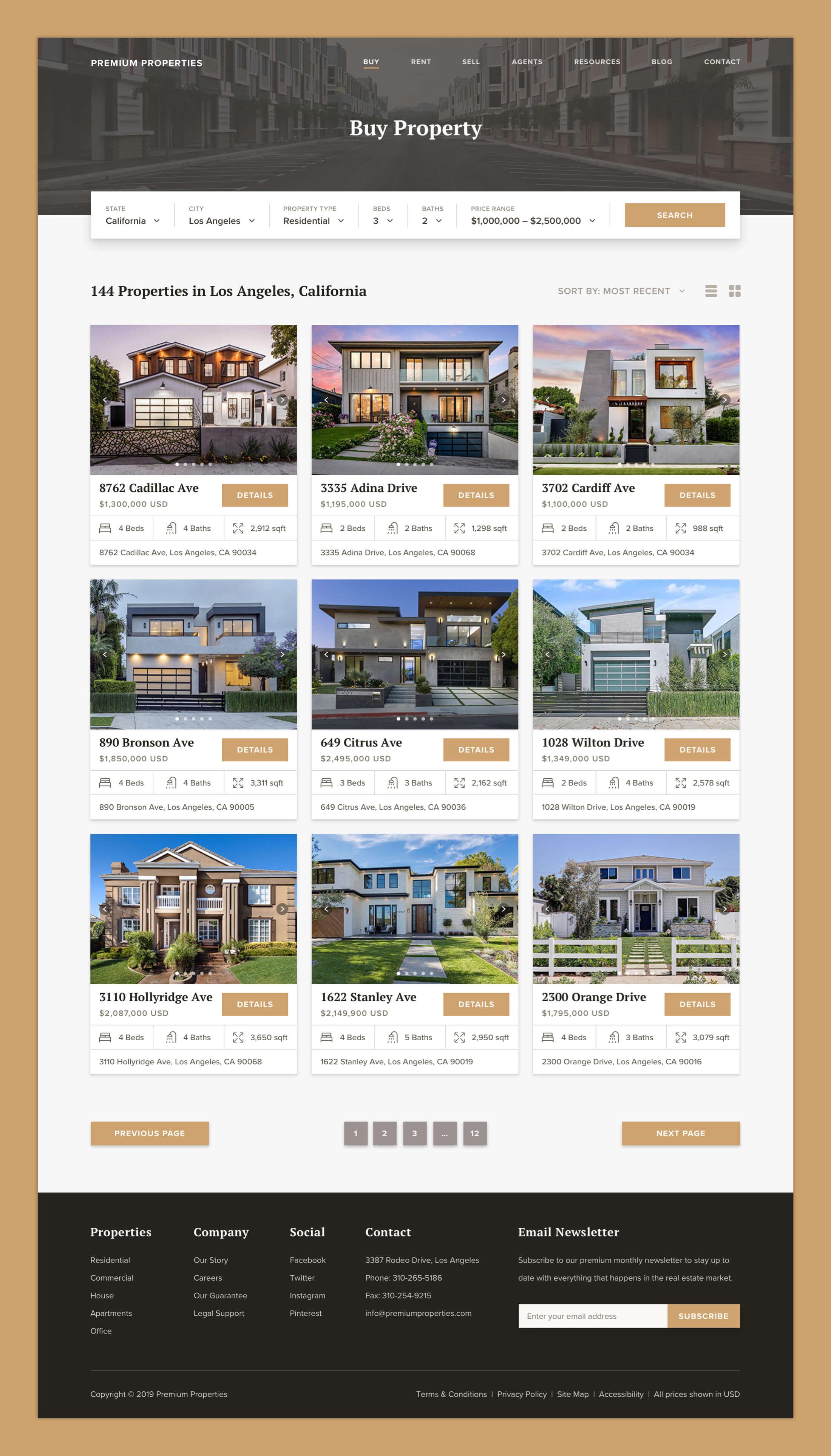 Premium Properties - Property Listings