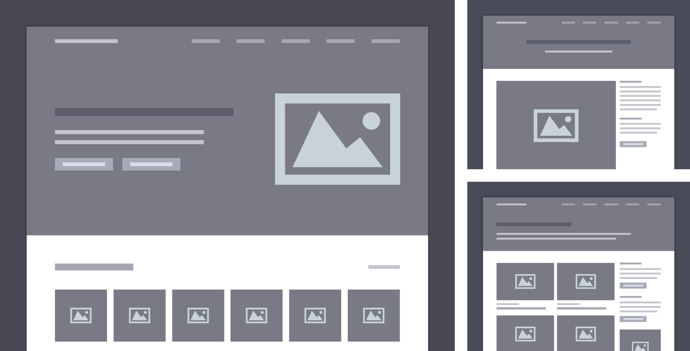 Inspiration For Designers wireframe